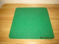 Lego Duplo Green Base Plate Board 24 x 24 studs