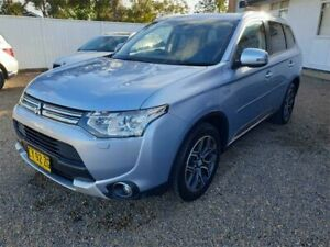 2014 Mitsubishi Outlander ZJ MY14.5 PHEV AWD Aspire Blue 1 Speed Automatic Wagon Hybrid Sylvania Sutherland Area Preview