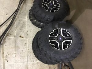 4 Side by Side Tires and Rims