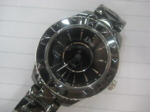 DIOR VIII Black Ceramic Ladies Watch
