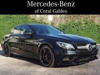 Miniature 1 Voiture American used Mercedes-Benz C-Class 2018