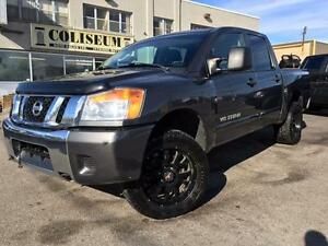 2011 Nissan Titan SV 4X4 **JACKED UP-RIMS**