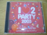 I Love To Party 2003 2 x CDs 2002