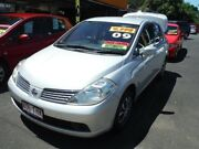2009 Nissan Tiida C11 MY07 ST Silver 4 Speed Automatic Sedan Girards Hill Lismore Area Preview