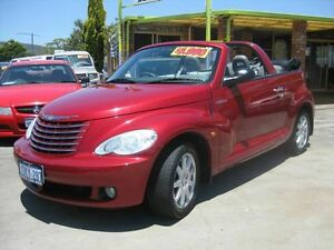 2006 Chrysler PT Cruiser CONVERTABLE*** IMMACULATE*** Red 5 Speed Manual Coupe Maddington Gosnells Area Preview