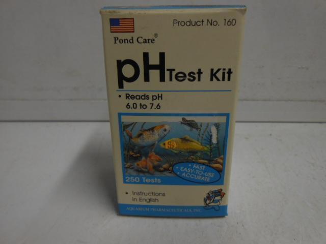 POND CARE PH TEST KIT READS PH 6.0 TO 7.6 250 TESTS
