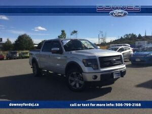 2014 Ford F-150 FX4 4x4 SuperCrew Cab 5.5 ft. box 145 in. WB