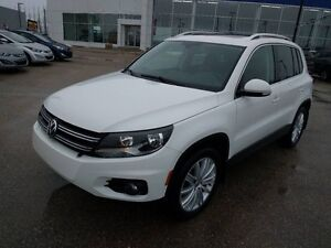 2014 Volkswagen Tiguan Comfortline Leather Panoramic Roof