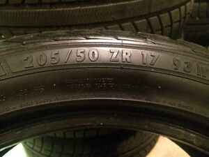 205/50R17 General Exclaim UHP tires London Ontario image 5