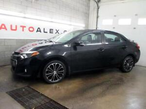2015 Toyota Corolla S AUTOMATIQUE TOIT CAMERA MAGS CUIR 37$/SEM