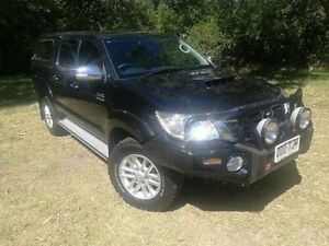 2013 Toyota Hilux KUN26R MY12 SR5 Double Cab Steel 5 Speed Manual Utility Mount Barker Mount Barker Area Preview