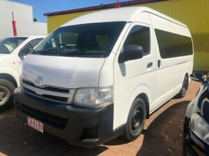 2012 Toyota HiAce KDH223R MY11 Commuter High Roof Super LWB French Vanilla 5 Speed Manual Stuart Park Darwin City Preview