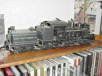 IRON HORSE MODELS  PSC BRASS On3 WEST SIDE LUMBER COMPANY WSLco SHAY #12