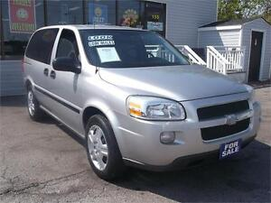 2009 CHEVROLET UPLANDER LS * ONLY 134,000 KMS * DVD !! LOADED !