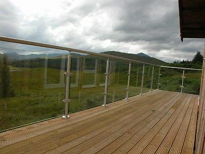 Stainless Steel and Glass Balustrade / Handrail / Railings / Balcony