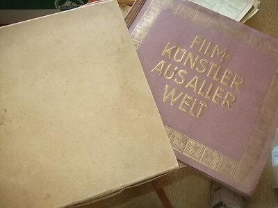 Zigarettenbilder-Sammelalbum Jasmatzi Dresden,Filmkünstler,Hänsom,ca.1930Rarität