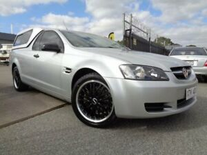 2008 Holden Commodore VE MY09.5 Omega Silver 4 Speed Automatic Utility Pooraka Salisbury Area Preview