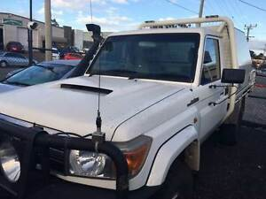 2011 TOYOTA LANDCRUISER VDJ79 GXL CAB CHASSIS (140,KMS SITE SPEC) Rochedale South Brisbane South East Preview