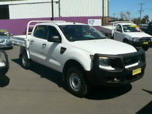 2013 Ford Ranger PX XL 2.2 Hi-Rider (4x2) White 6 Speed Manual Crew Cab Pickup Dubbo Dubbo Area Preview