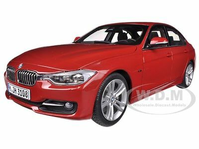 BMW F30 3 SERIES MELBOURNE RED 1/18 DIECAST MODEL CAR BY PARAGON 97024 3 Series Diecast Model
