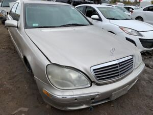 2002 Mercedes S500 just in for parts at Pic N Save!