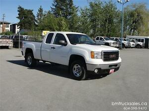 2012 GMC SIERRA 2500HD EXT CAB SHORT BOX 4X4