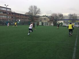 Play friendly 7-a-side footy in BATTERSEA. Every Saturday/Sunday. New players needed!
