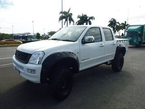 2003 Holden Rodeo RA LX Crew Cab White 5 Speed Manual Utility Cairns Cairns City Preview