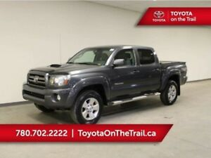 2010 Toyota Tacoma DOUBLE CAB TRD SPORT; 6 SPEED MANUAL, 4X4, TO