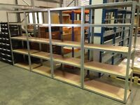 10 Bays Garage/ Shed / Office / Storeroom Shelving 1780x900x450 Galvanise (Free Delivery)