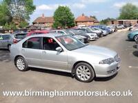 2005 (54 Reg) Rover 45 1.6 CONNOISSEUR 5DR Hatchback SILVER + 1 OWNER