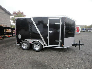 7x12 Enclosed 2-3 Bike Motorcycle Trailer for Rent $65/day
