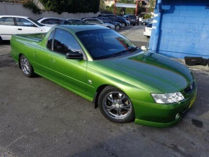 2002 Holden Commodore VY S Green 4 Speed Automatic Utility Sylvania Sutherland Area Preview