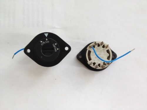 SCHURTER, Line Voltage Selector SWZ, 4 Positions, Lot of 3