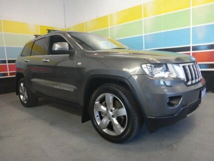 2012 Jeep Grand Cherokee WK Limited (4x4) Graphite Grey 5 Speed Automatic Wagon