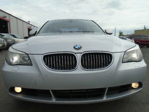 2005 BMW 545i SPORT PKG-4.4L V8--LEATHER-SUNROOF-AMAZING SHAPE