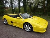 Ferrari F355 3.5 Spider 2dr 1997 / Right Hand Drive (RHD) / MANUAL