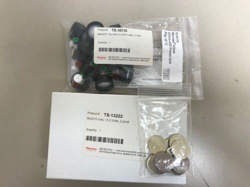 Thermo Scientific Reacti-Vial™ Small Glass Reaction Vials,TS-13222 & TS-10135