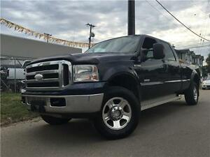 2005 Ford F-350 XLT DIESEL = CREW CAB LONG BOX = ONE OWNER