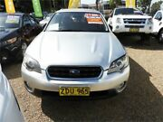 2004 Subaru Outback B4A MY04 R AWD Premium Pack Silver 5 Speed Sports Automatic Wagon Minchinbury Blacktown Area Preview