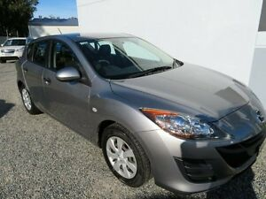 2011 Mazda 3 BL10F1 MY10 Neo Activematic Silver 5 Speed Sports Automatic Hatchback Glendale Lake Macquarie Area Preview