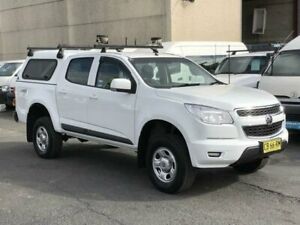 2014 Holden Colorado RG MY15 LS (4x4) White 6 Speed Automatic Crew Cab Pickup Revesby Bankstown Area Preview