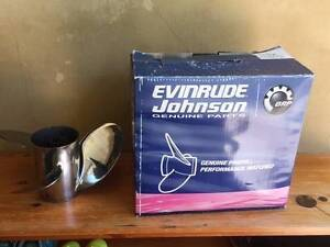 """EVINRUDE JOHNSON OUTBOARD PROPELLER VIPER 17"""" PITCH Avalon Pittwater Area Preview"""