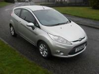 Ford Fiesta 1.25 ( 82ps ) 2010.5MY Zetec 3 Dr in Silver 73300 Mls 2 Pre Owners