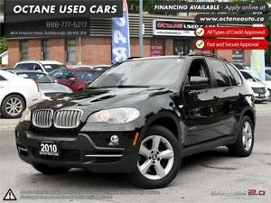 2010 BMW X5 35d DIESEL NAVI, PANO ROOF, NO ACCIDENTS!