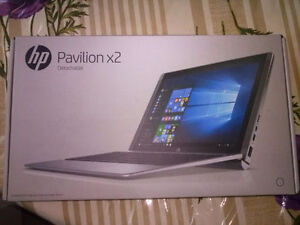 Brand New Factory Sealed HP Pavillion X2 Tablet with keyboard