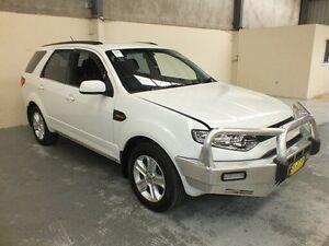 2014 Ford Territory SZ TX (RWD) White 6 Speed Automatic Wagon Gateshead Lake Macquarie Area Preview