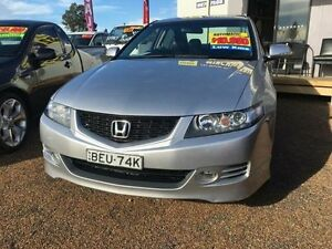 2006 Honda Accord MY06 Euro Sport Silver 5 Speed Sequential Auto Sedan St Marys Penrith Area Preview