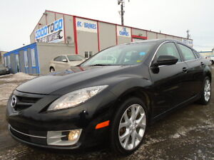 2010 Mazda Mazda6 GT HEATED LEATHER-SUNROO Sedan