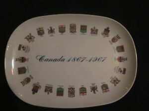 Collectible Canada Centennial Oval Plate/platter London Ontario image 1